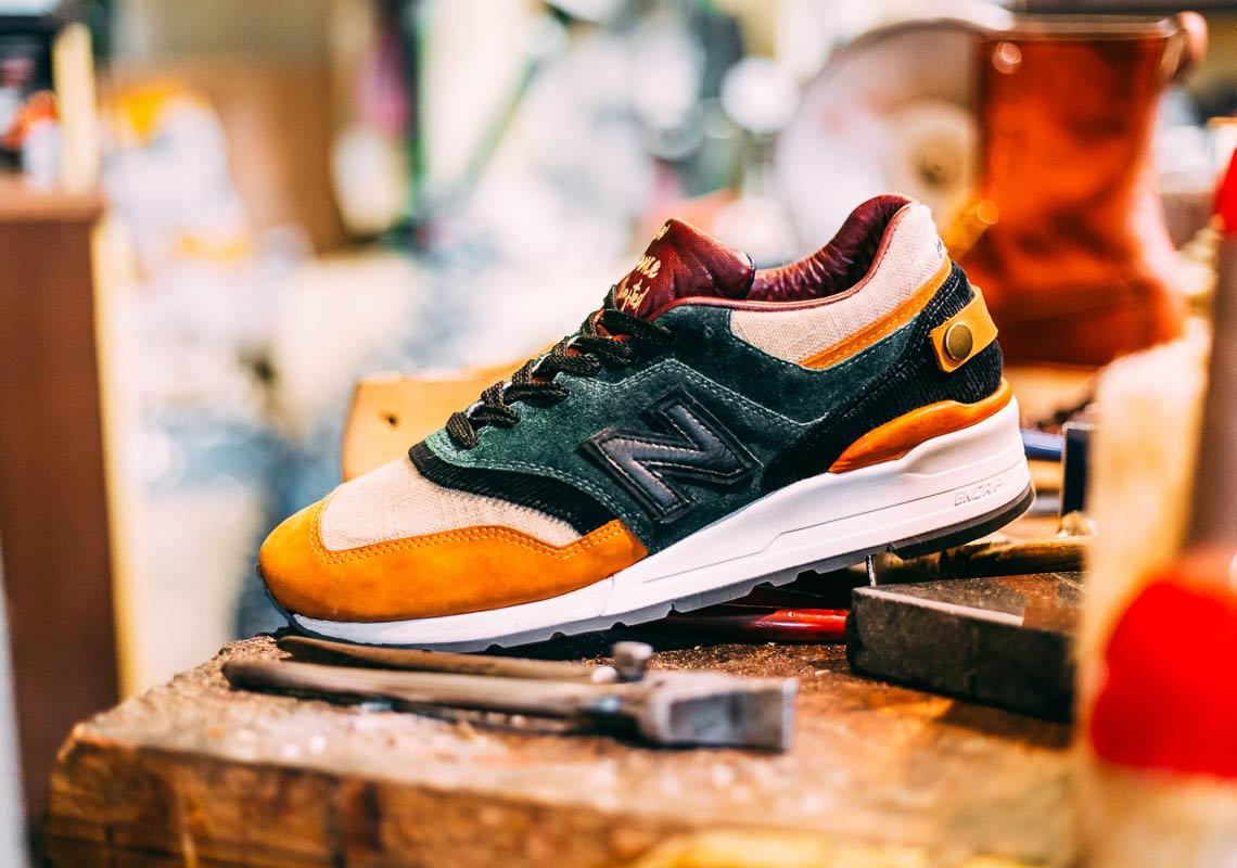 Afew New Balance 997 Craftsmanship Info | SneakerNews.com