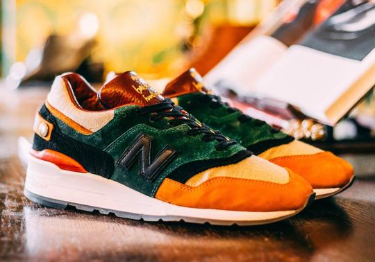 "Afew Creates A 1-Of-1 ""Craftsmanship"" New Balance 997 With Premium Details"