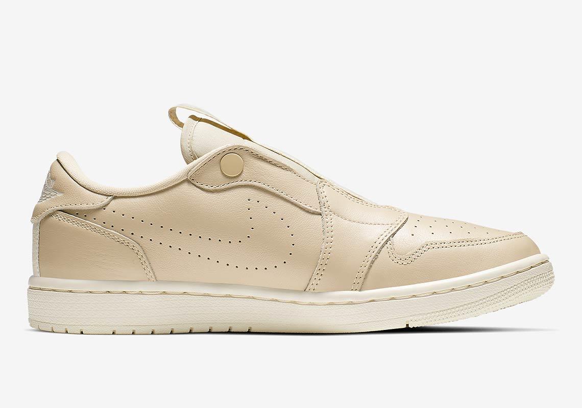 san francisco 463bb 14be0 Air Jordan 1 Low Slip-On Wmns  115. Color  Desert Ore Light Cream Style  Code  AV3918-200. Advertisement