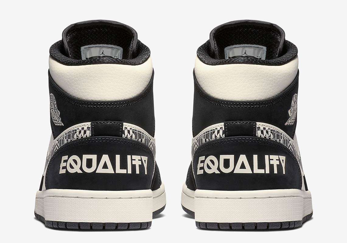 188226b22f48 Jordan 1 Mid Equality 2019 852542-010 Release Date