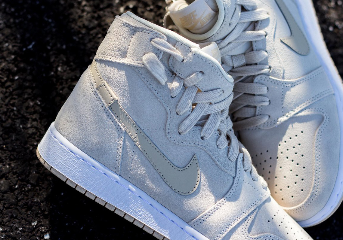 half off 2257e 585c6 Air Jordan 1 Rebel Light Cream Release Info   SneakerNews.com