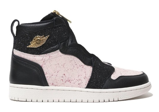 The Air Jordan 1 Retro High Zip Adds New Materials And Patterns For Spring
