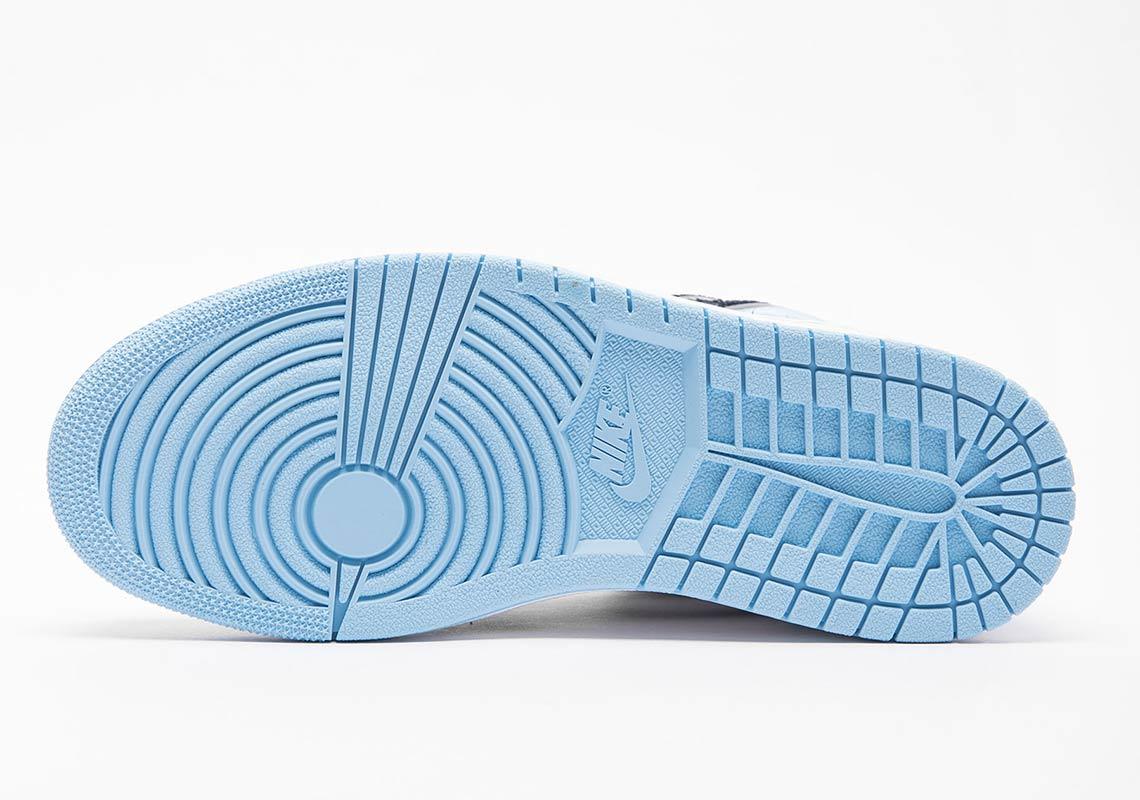 Air Jordan 1 UNC Blue Patent Leather Release Dates | SneakerNews.com