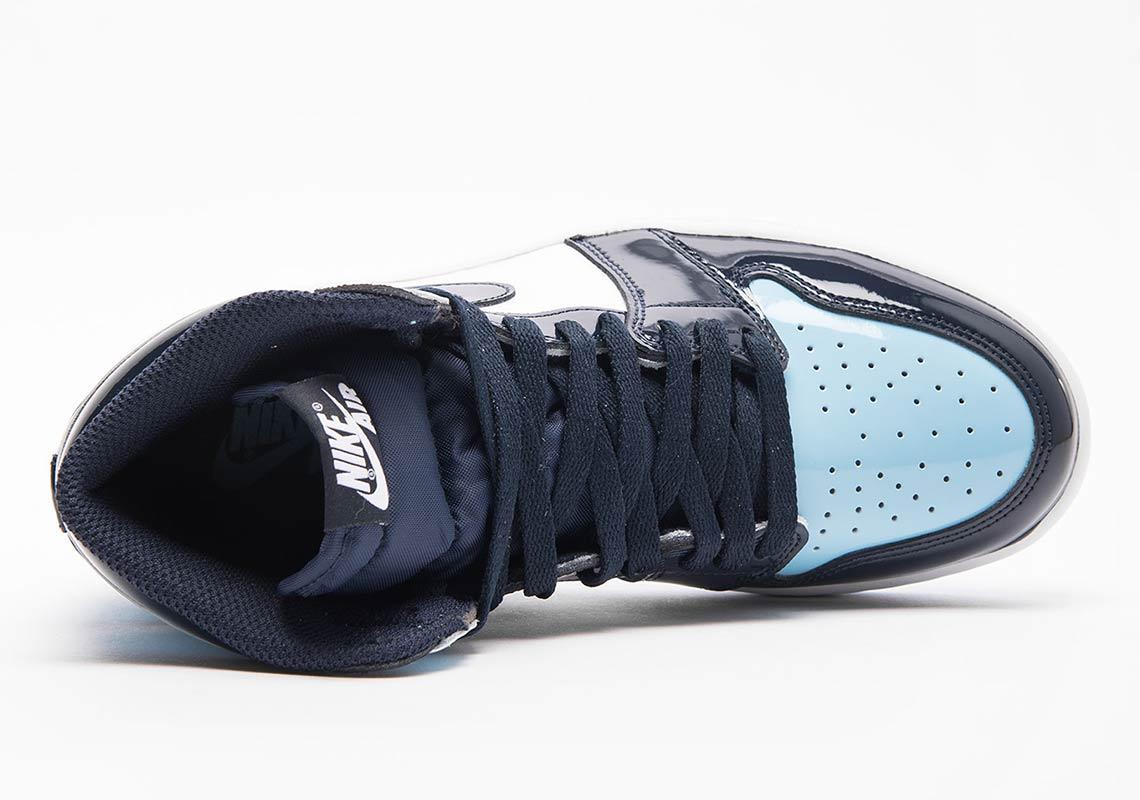 c5e2b3f54e5607 Air Jordan 1 UNC Blue Patent Leather Release Dates