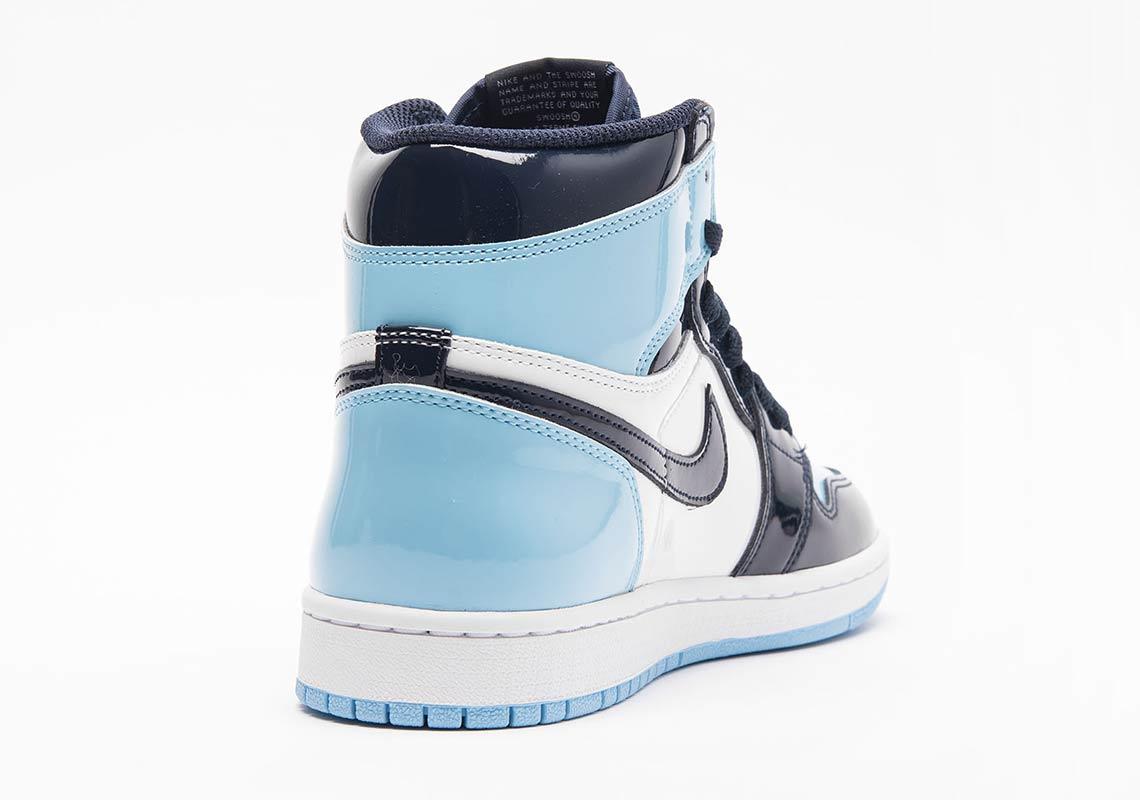 929d90a9a0a5 Air Jordan 1 UNC Blue Patent Leather Release Dates
