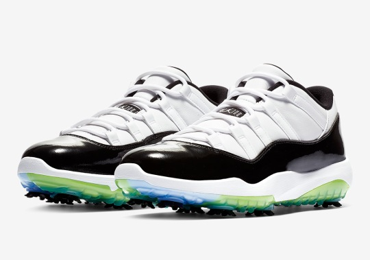 "The Air Jordan 11 ""Concord"" Is Releasing As A Golf Shoe"