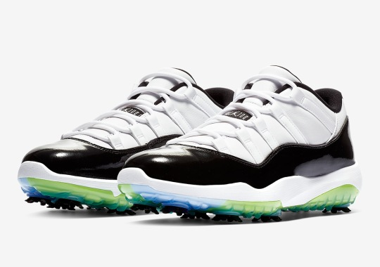 "c08270aa27324f The Air Jordan 11 ""Concord"" Is Releasing As A Golf Shoe"