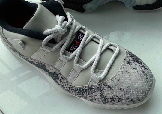 """a5bce96d001f Another Air Jordan 11 Low """"Snakeskin"""" Is Coming This Summer"""