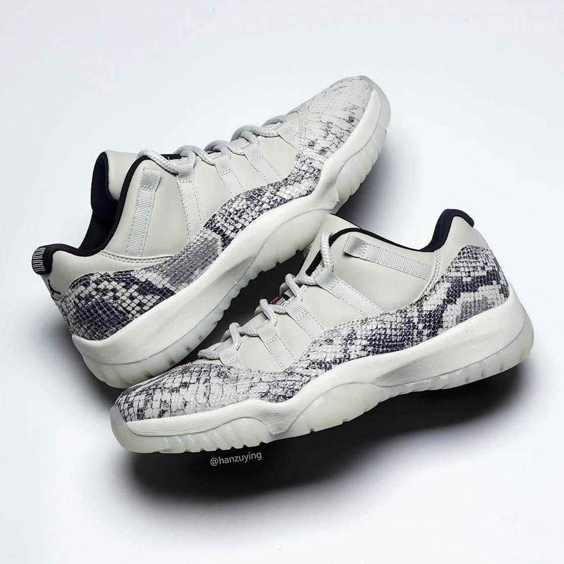 7f1ffdc953de8 Air Jordan 11 Low Snakeskin Light Bone CD6846-002 | SneakerNews.com