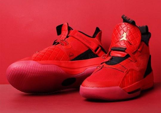 The Air Jordan 33 Goes Full Red