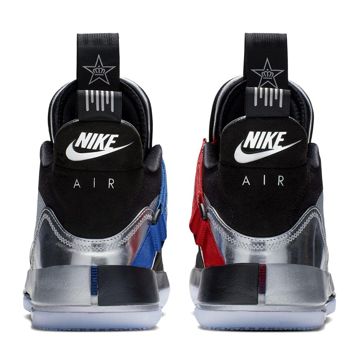 d4a052d59b9 Air Jordan 33 XXXIII All-Star Silver AQ8830-005 Release Date ...