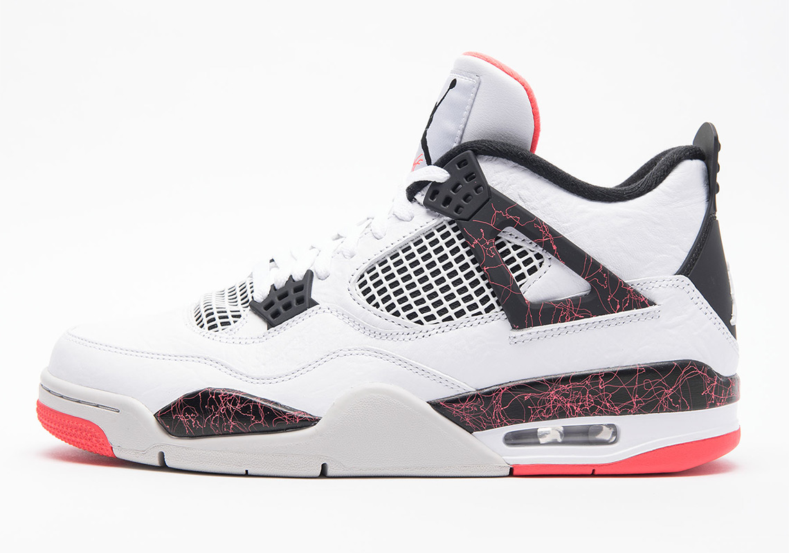 4cf44615fdfb Air Jordan 4 Retro White Black Bright Crimson Pale Citron 308497-116 ...
