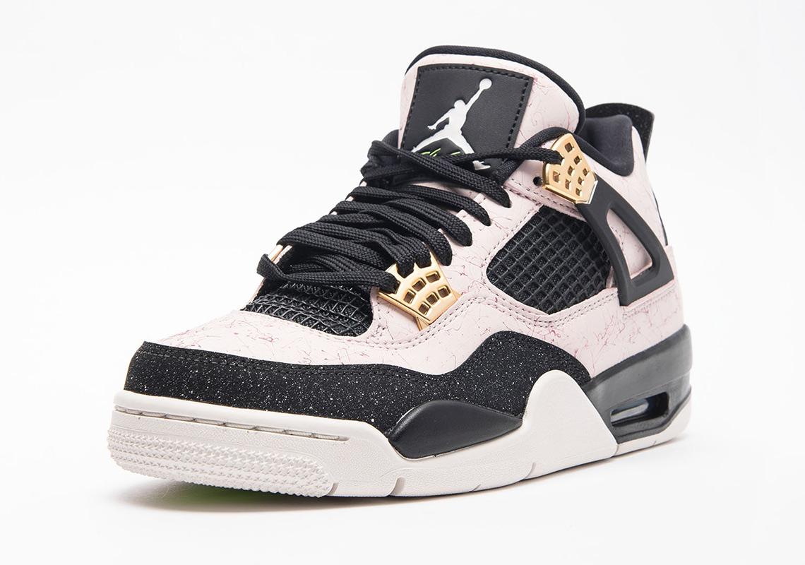 8c6164192016 Air Jordan 4 Retro WMNS AQ9129-601 Silt Red Black Phantom Volt ...