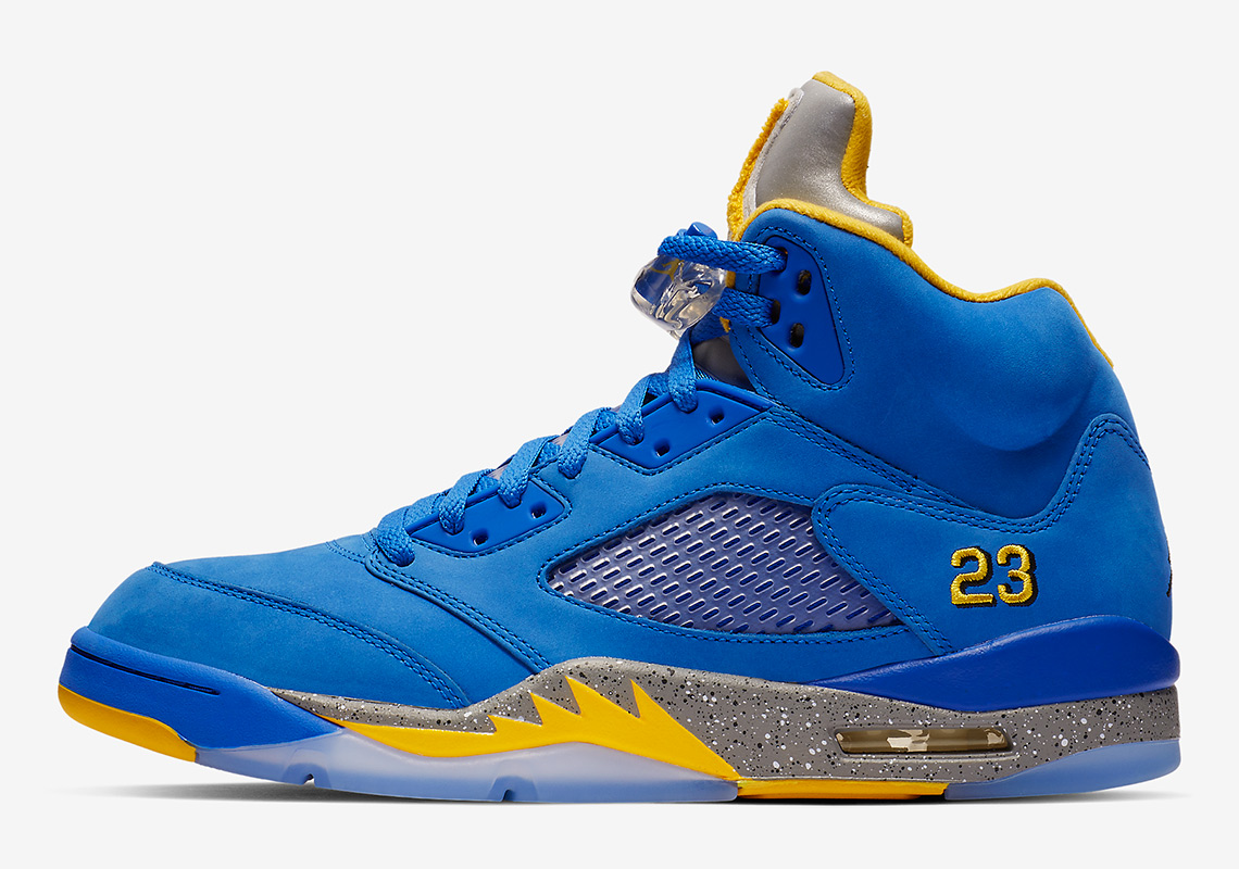 3acf8069b745 Air Jordan 5 Blue Laney CD2720-400 Store List