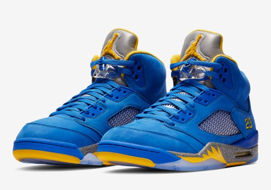 "Where To Buy The Air Jordan 5 ""Laney"""