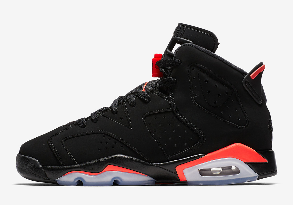 official photos 7f771 65030 Air Jordan 6. Release Date  February 16th, 2019. Color  Black Infrared 23- Black