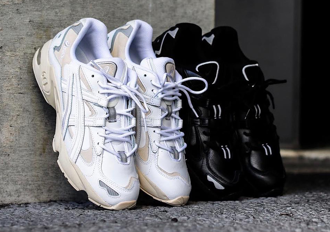 4ed57361f684a The ASICS GEL-Kayano 5 OG Arrives In Contrasting White And Black Colorways