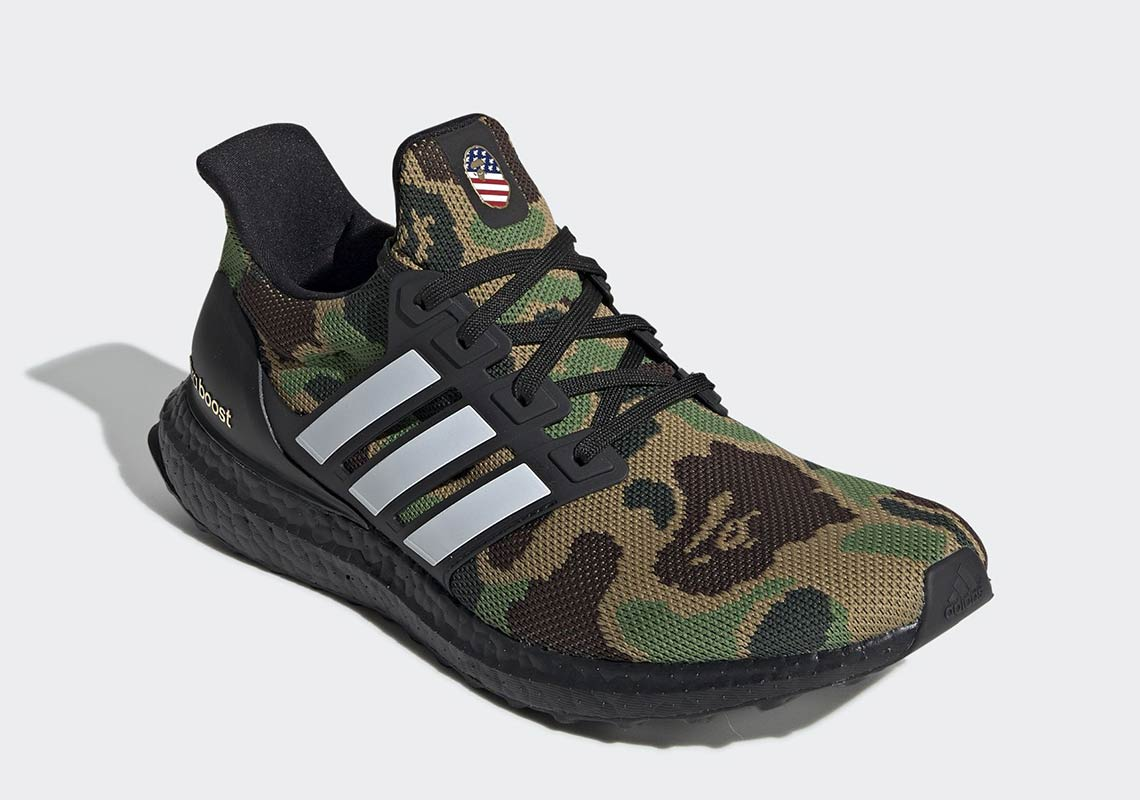 uk availability d2321 eeaf0 Bape Ultra Boost Release Date + Info | SneakerNews.com