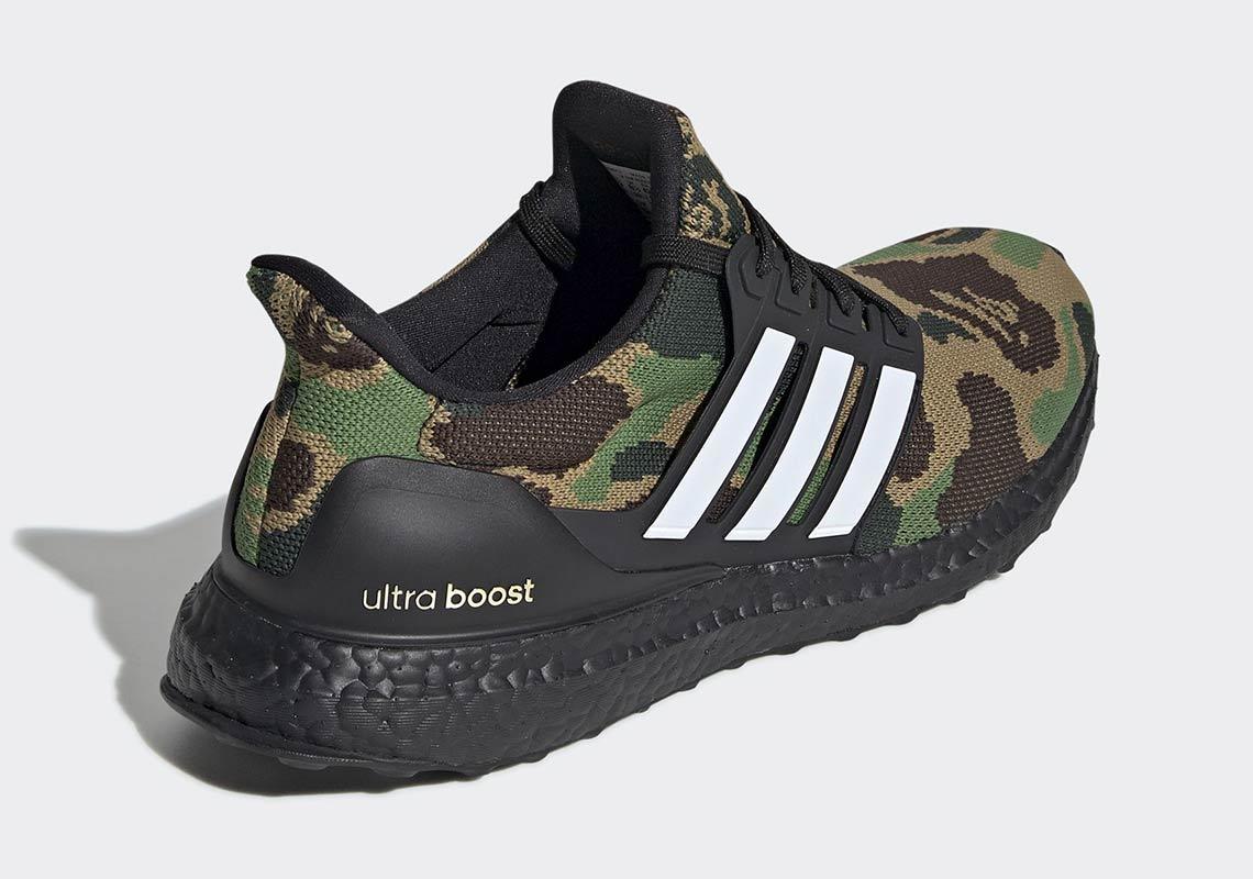 BAPE x adidas UltraBOOST Green