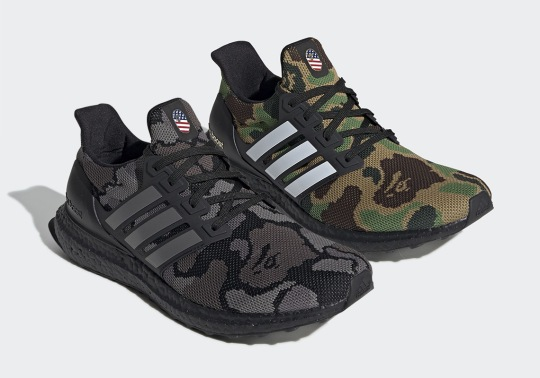 Official Images Of The BAPE x adidas Ultra Boost