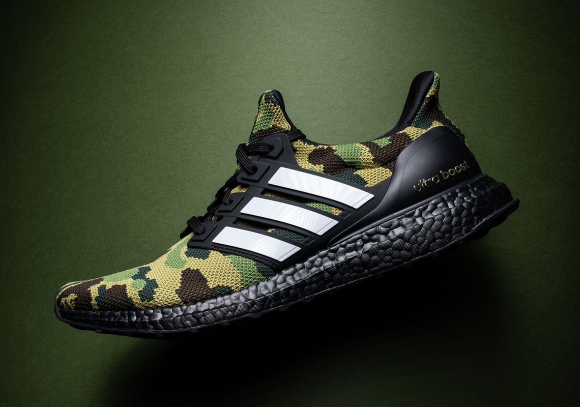 8d455340f Advertisement. BAPE x adidas Ultra Boost