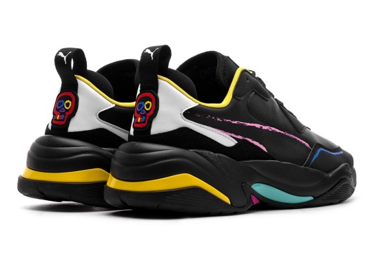 Bradley Theodore's Puma Thunder Pairs A Mixed Color Palette On Black