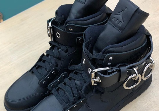 COMME des Garcons x Air Jordan 1 Revealed At Paris Fashion Week