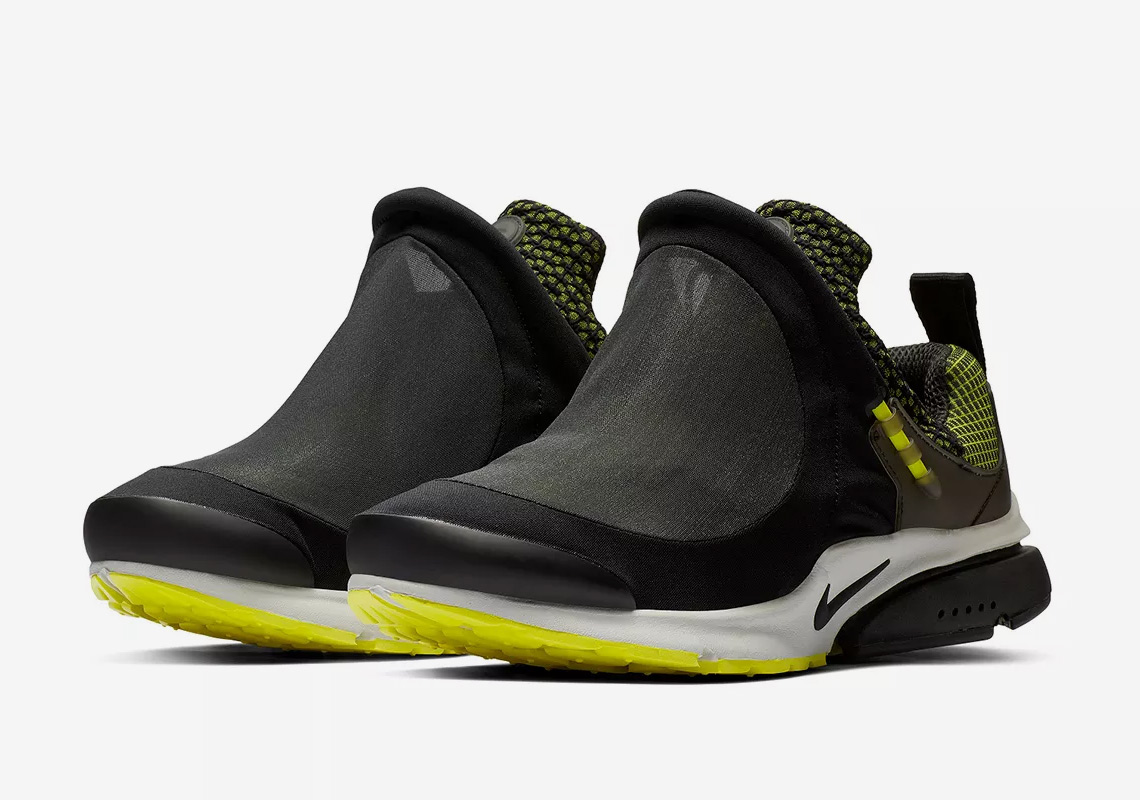 purchase cheap f66f9 1aa01 COMME des Garcons HOMME Plus x Nike Presto Tent Release Date January 12th,  2019 (Hong Kong) Color AnthraciteLemon Twist-Black