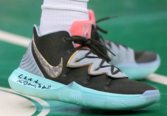 "Kyrie Irving Debuts Alternate Version Of The Concepts ""Ikhet"""