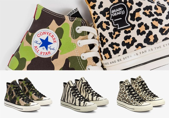 """Converse Breaks Down Brain Dead's Chuck 70 Collaboration With The """"Archive Pack"""""""