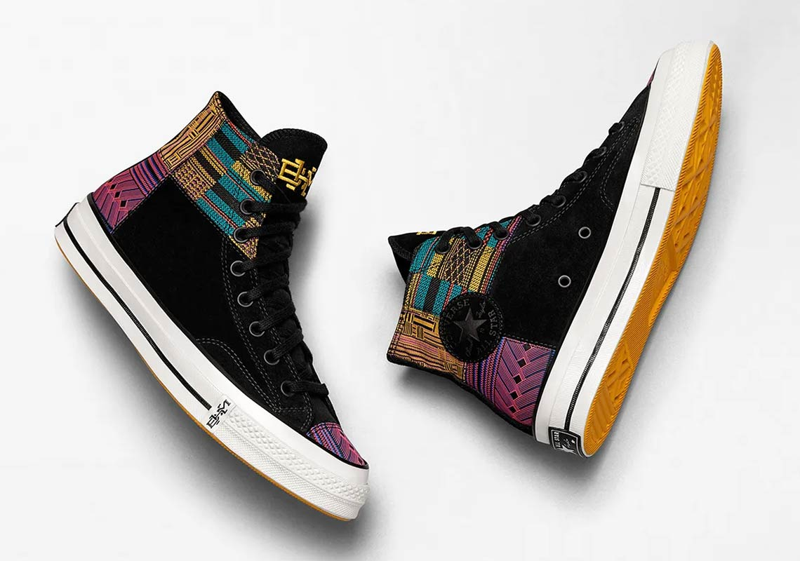 Converse Chuck Taylor 1970s Hi BHM Pack Trainers 165556C