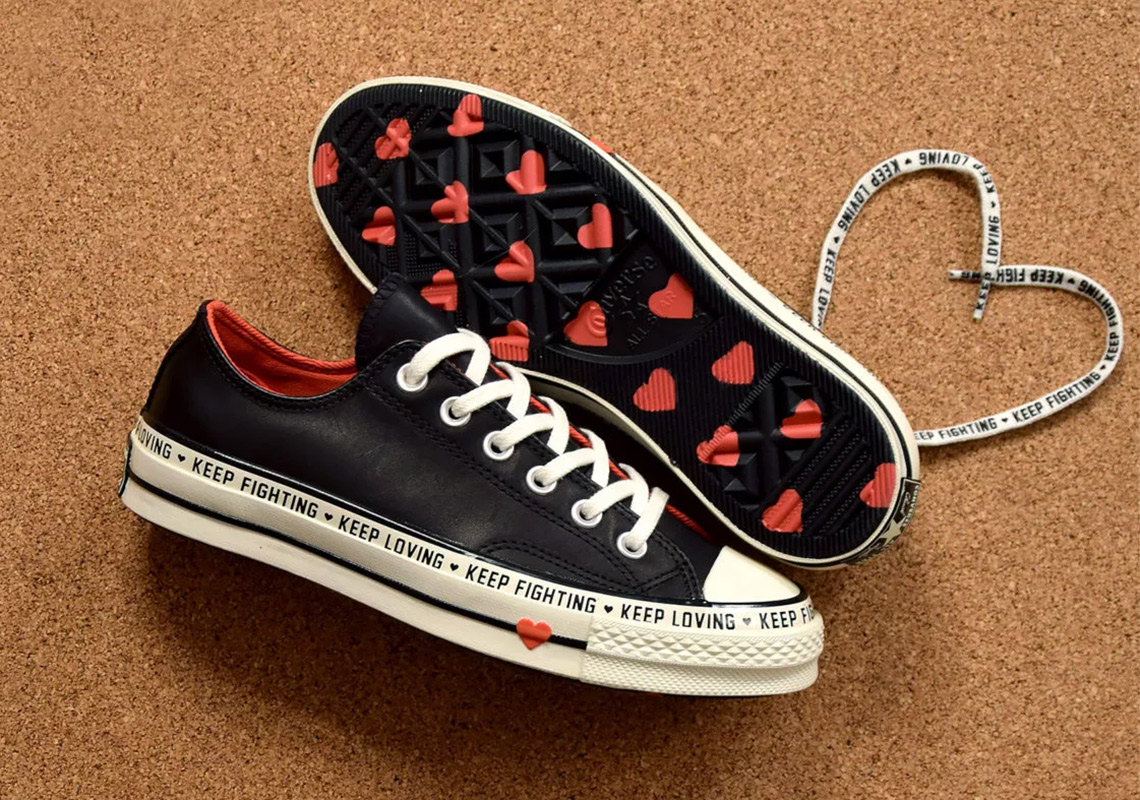 dabc210d544 Converse Chuck 70 Low For Valentine s Day Shares A Special Message