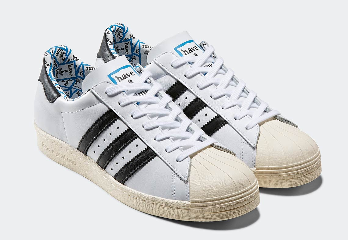 dd45e4b10d88 Have A Good Time x adidas Superstar 80s. Release Date  January 19