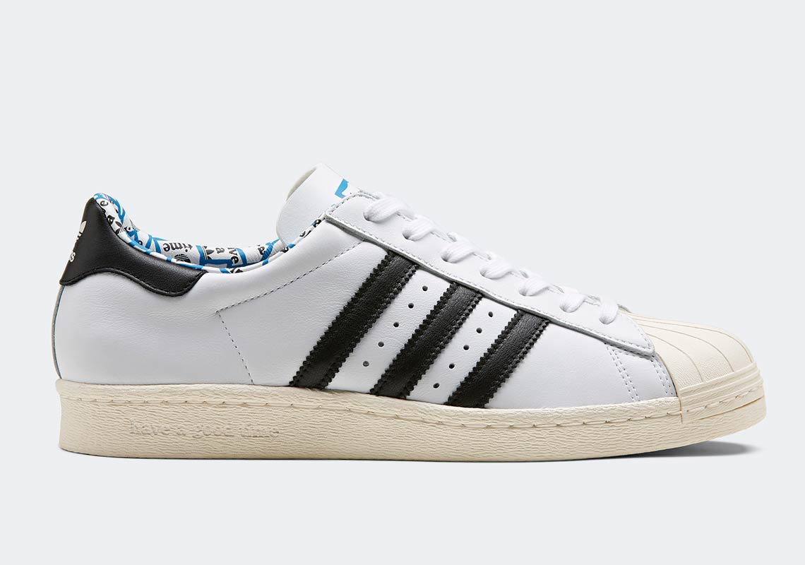 info for 68311 5bb72 Have A Good Time x adidas Superstar 80s. Release Date January 19, 2019  140. Color Footwear WhiteCore BlackChalk White