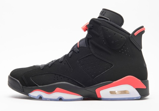 "The Air Jordan 6 ""Infrared"" Is Finally Returning On February 16th"