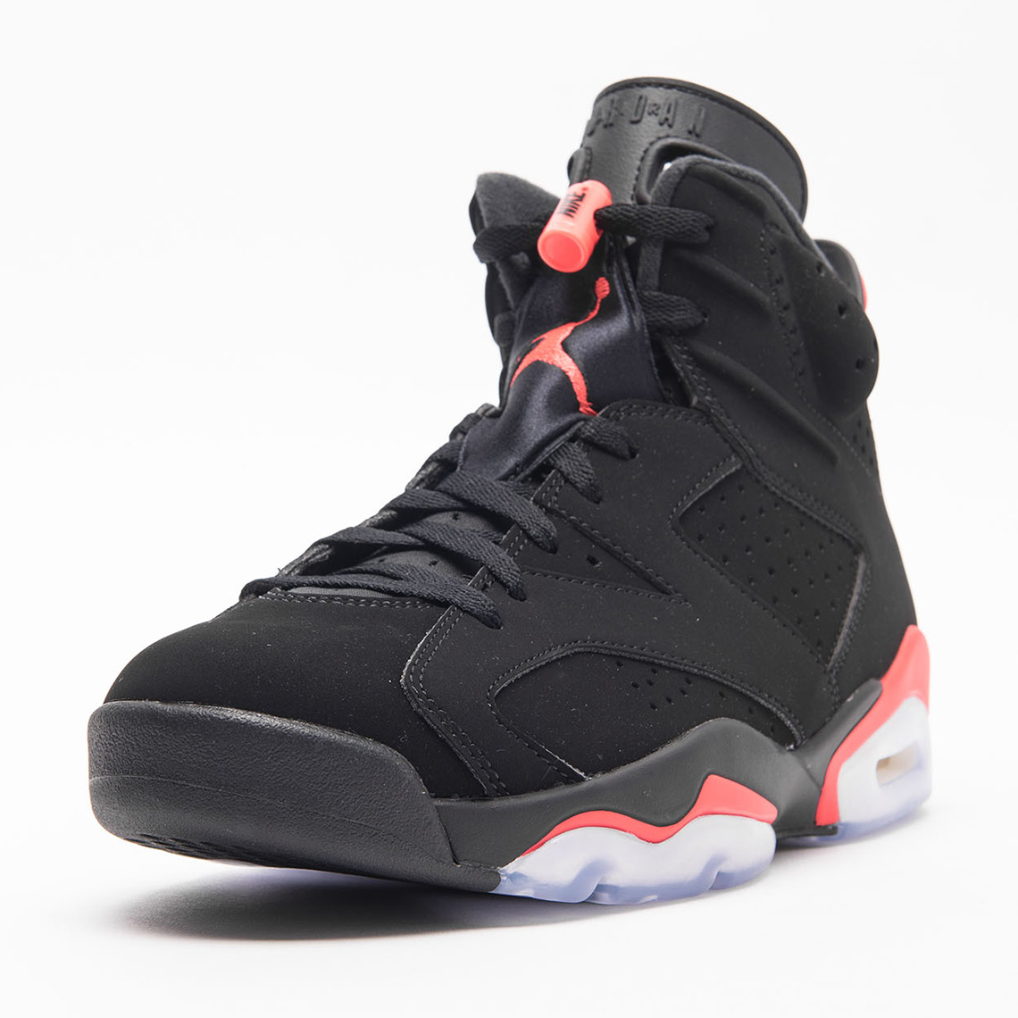 d76e3244d577a Air Jordan 6 Retro Black Infrared 384664-060 Release Date ...