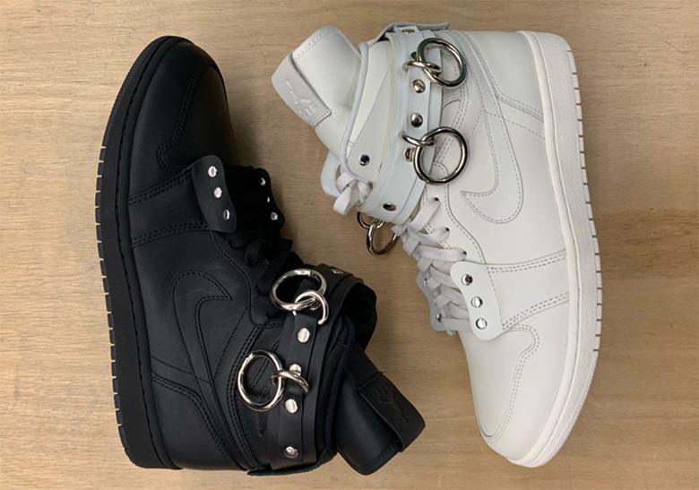 znana marka delikatne kolory Zjednoczone Królestwo COMME des Garcons HOMME Plus Air Jordan 1 Black Goth ...