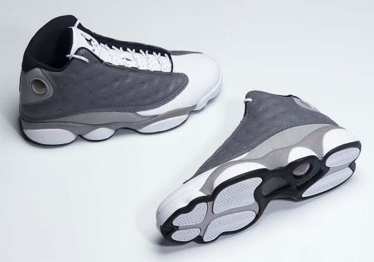 "Air Jordan 13 ""Atmosphere Grey"" Releases In March"