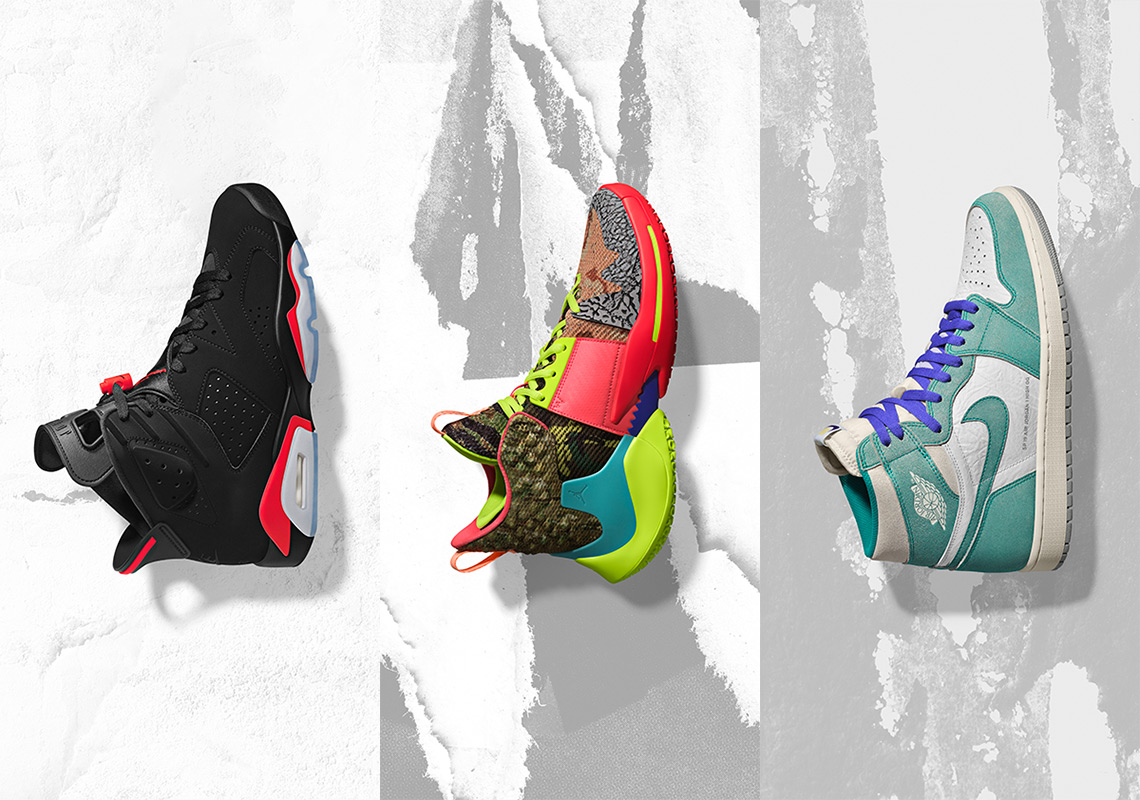 Jordan Brand Unveils 2019 NBA All-Star Footwear Collection c8a82c486