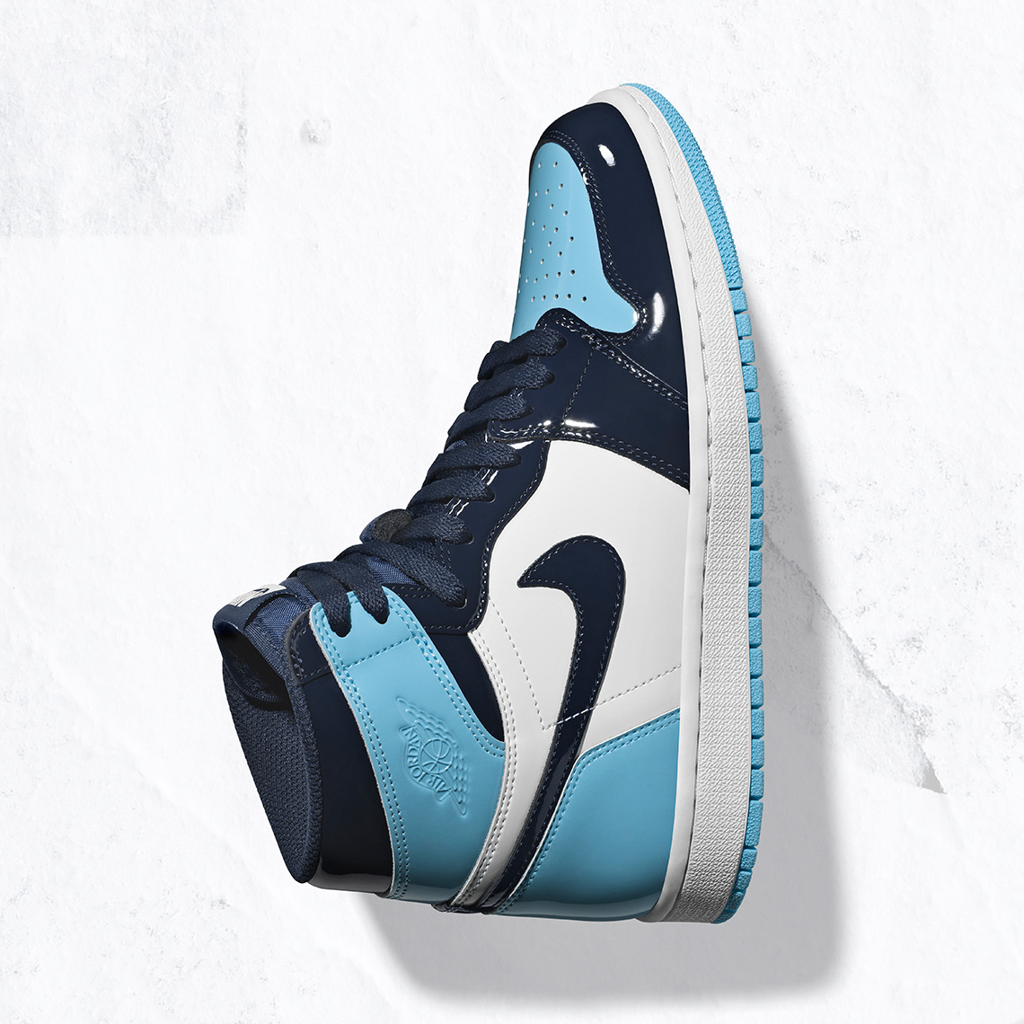 "Air Jordan 1 Retro High OG ""UNC Patent"" Where To Buy  Air Jordan 1 UNC  Release Date  February 2nd 5b67f9390"