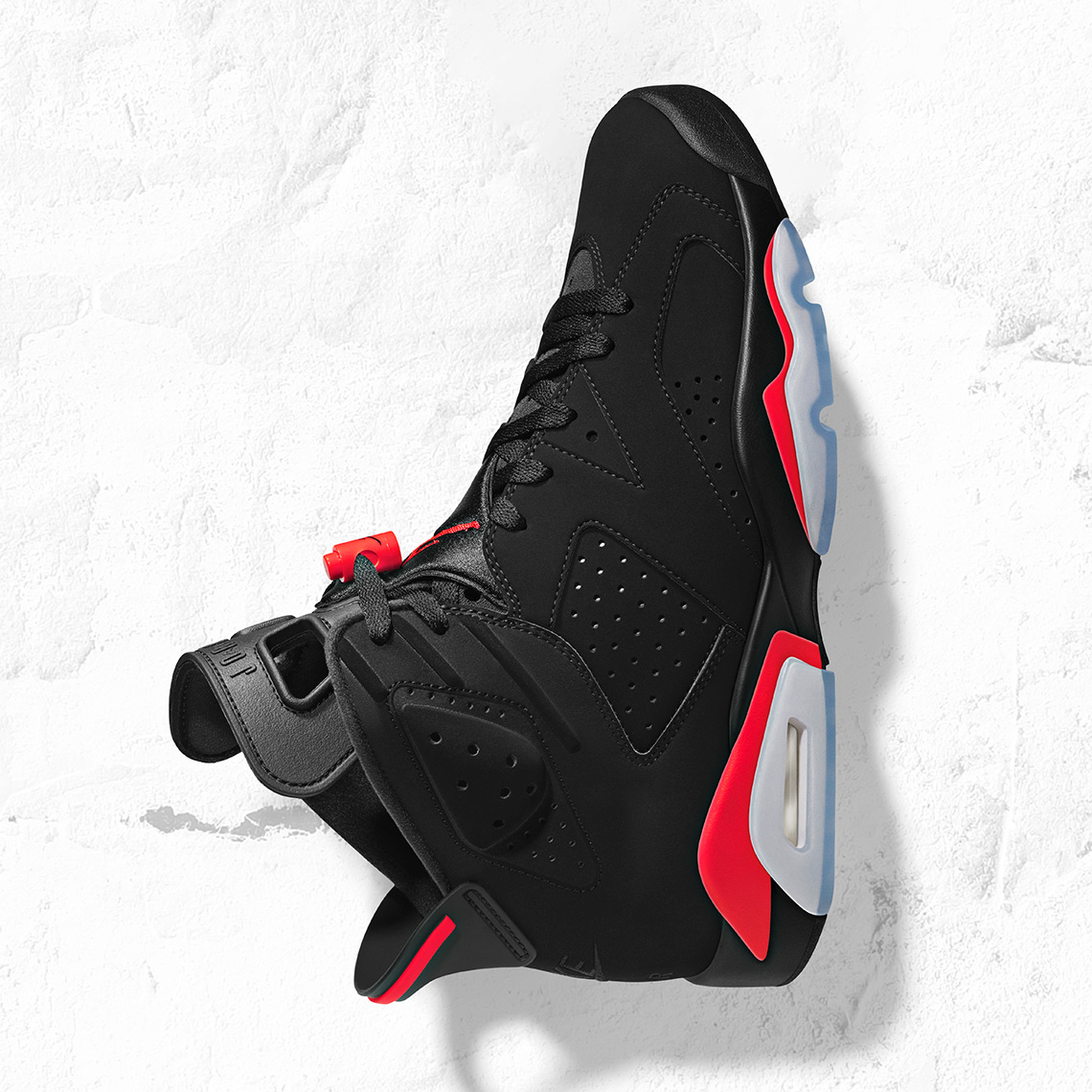 "the latest 62e43 923ec Air Jordan 6 ""Infrared"" Release Date  February 16th, 2019. Color  Black  Infrared Style Code  384664-060"