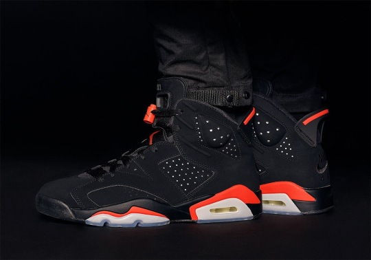"The Air Jordan 6 ""Infrared"" And Matching Apparel Is Releasing Early At KITH"