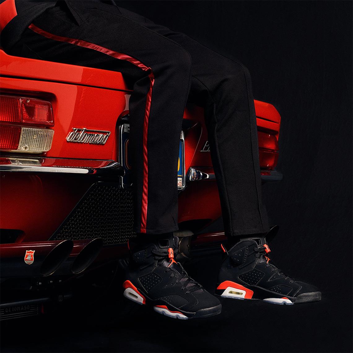 new product 6de6c efb7a Air Jordan 6 Infrared Shoes + Apparel Release Info   SneakerNews.com
