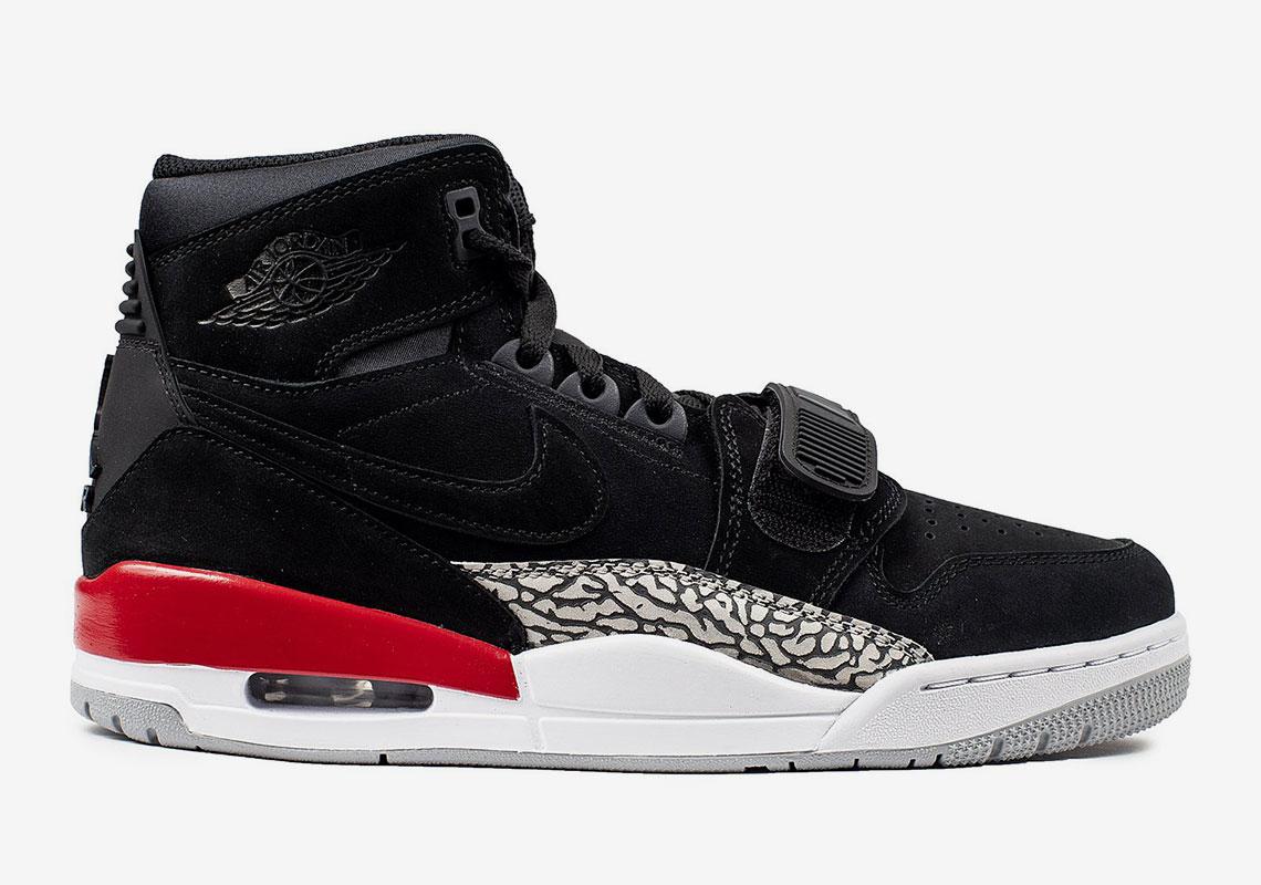 Jordan Legacy 312 Black Suede Release