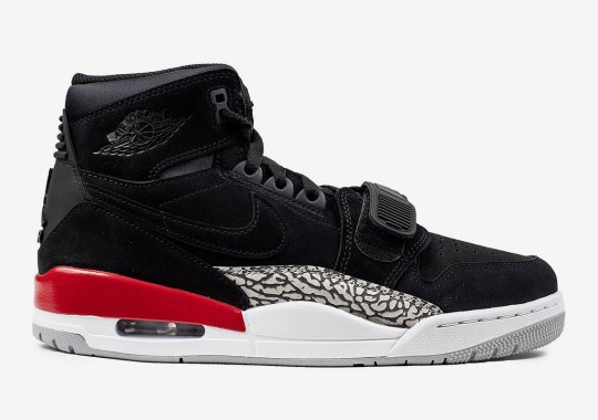 lowest price 3df65 0bc6b The Jordan Legacy 312 Gets A Black Suede Makeover