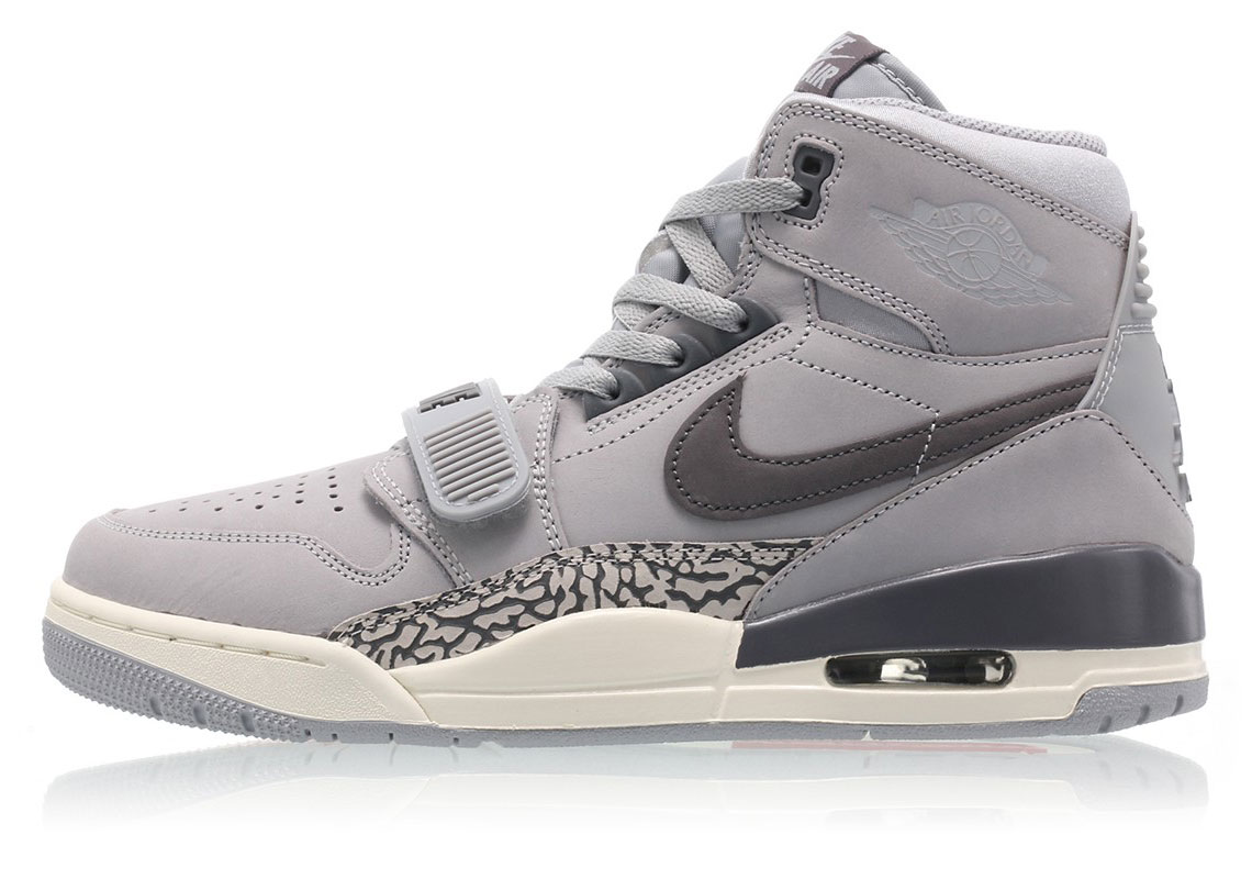 best service 19ecc 90a59 Jordan Legacy 312  150. Color  Wolf Grey Light Graphite-Sail Style Code   AV3922-002. Where to Buy. Nike Available  43einhalb Available