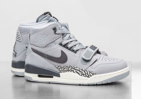 The Jordan Legacy 312 Keeps Things Muted With Wolf Grey