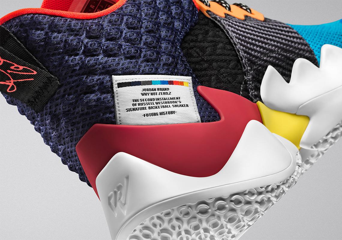 Jordan Why Not Zer0.2 Russell Westbrook Shoe