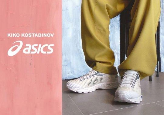 Kiko Kostadinov X Asics Bring Back The GEL Delva In Three New Colorways