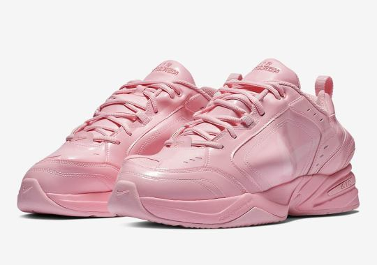 16ea4680312 Martine Rose s Distorted Nike Air Monarch Drops This Weekend